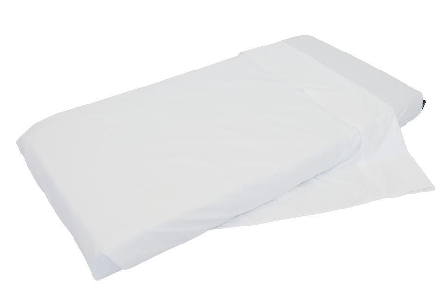 Mum 2 Mum NZ Cot Fitted Sheet - White image