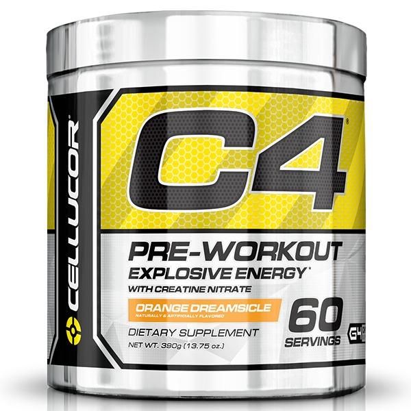 Cellucor C4 Gen4 Pre-Workout - Orange (60 Servings) image