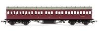 Hornby: LMS Non-Corridor 57' Composite Coach BR Maroon
