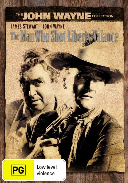The Man Who Shot Liberty Valance (Repackaged) on DVD