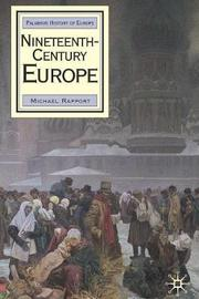 Nineteenth-Century Europe by Michael Rapport image