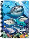Shark Selfie A5 Notebook