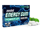 Zestel Energy Gum - Spearmint Rush