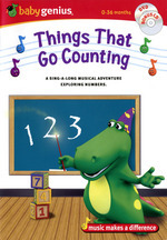 Baby Genius - Things That Go Counting (DVD And CD) (Handle Case) on DVD