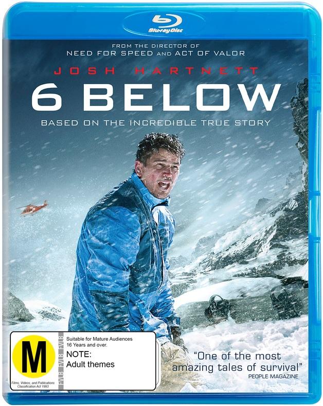 6 Below on Blu-ray