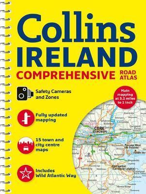 Comprehensive Road Atlas Ireland by Collins Maps