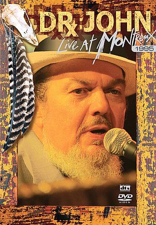 Dr John - Live At Montreux 1995 on DVD image
