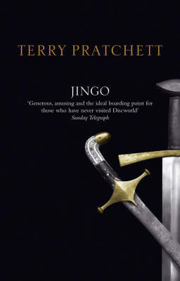 Jingo (Discworld - City Watch) (black cover) by Terry Pratchett image