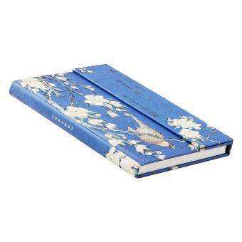Bullfinch and Cherry Tree Journal (Large, Foldover) image