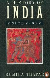A History of India by Romila Thapar image