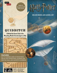 IncrediBuilds: Harry Potter: Quidditch Deluxe Book and Model Set by Jody Revenson