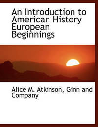 an introduction to the history of americans An introduction and timeline of college in america as john thelin notes in a history of american higher education the art of manliness.