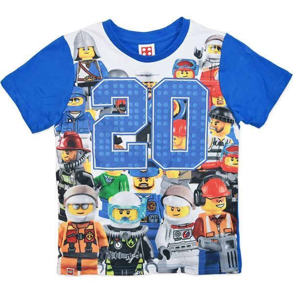 LEGO Minifigure 20 T-Shirt (Size 4)