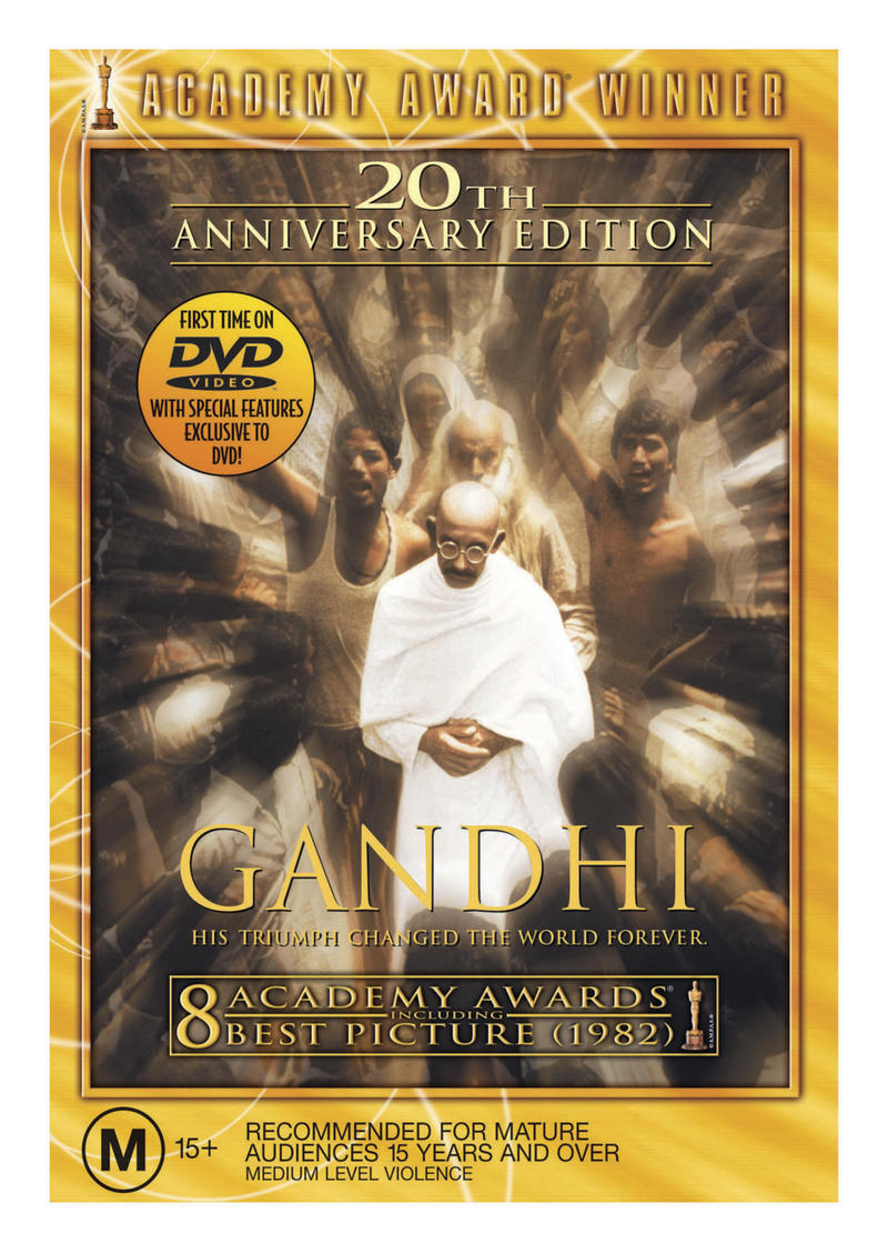 Gandhi on DVD image