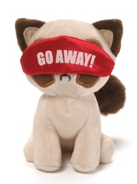 Box O Grump: Nighty Night Grumpy Cat Plush