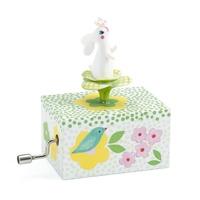 Djeco: Rabbit In The Garden Music Box