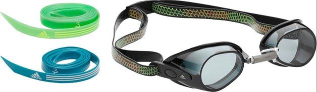 Adidas Hydronator Goggles - Smoke Lens (Black/Grey)