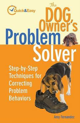 The Dog Owner's Problem Solver by Amy Fernandez image