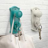 Doorman Key Holder & Hook (Turquoise)