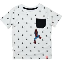 Marvel: Spiderman T-Shirt with Pocket - Size 4
