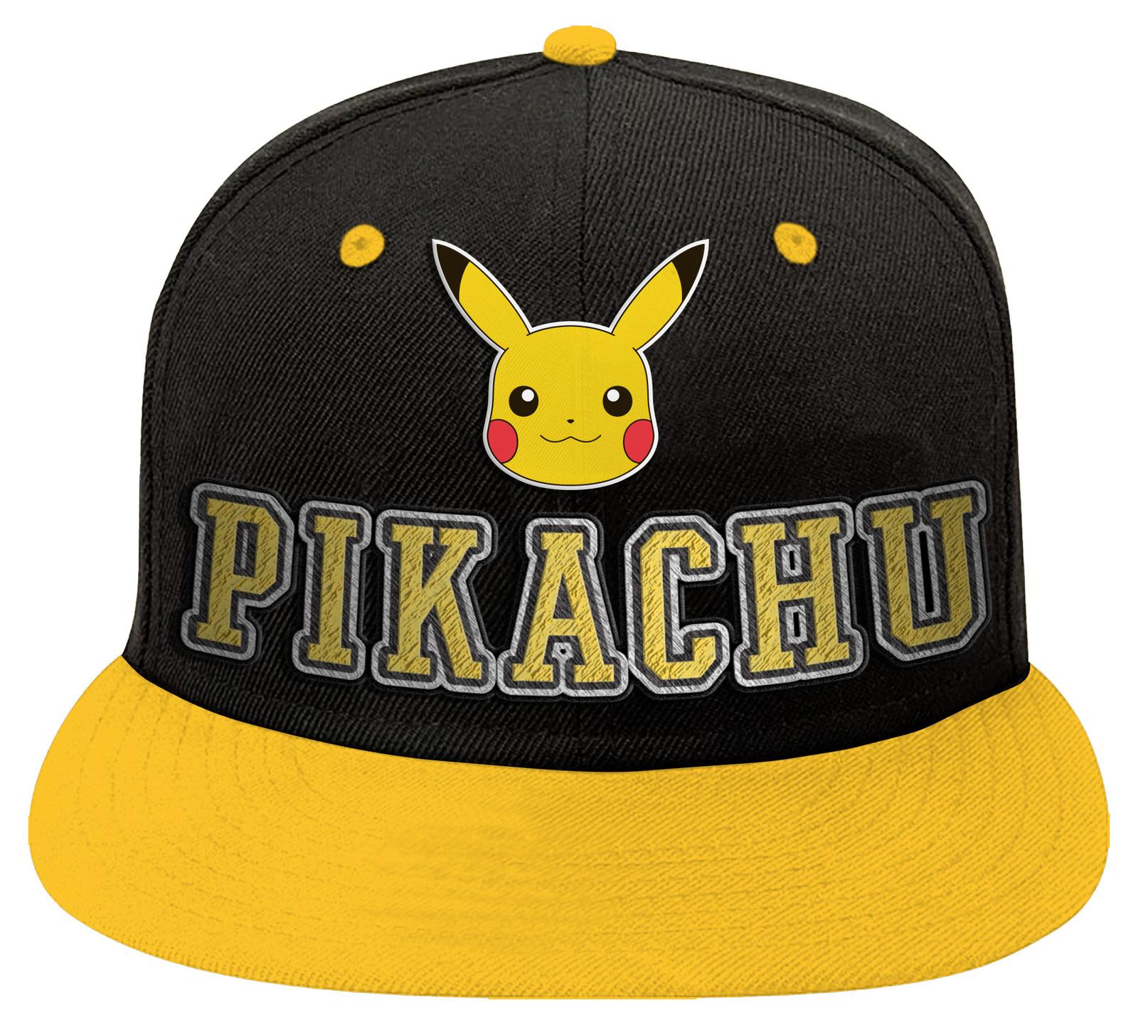 Pokemon Pikachu Character Cap image
