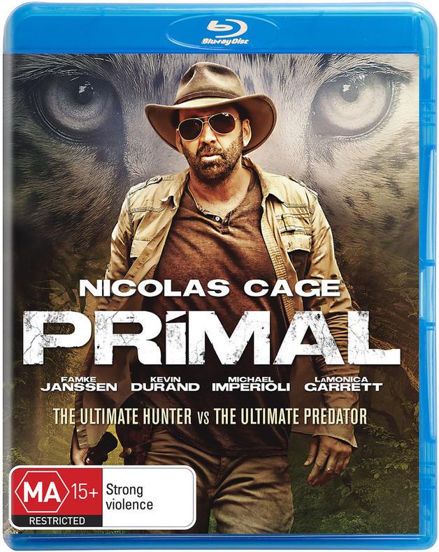 Primal on Blu-ray