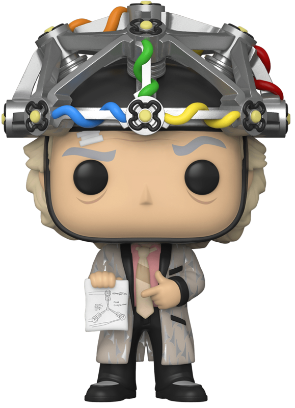 Back to the Future: Doc (with Helmet) - Pop! Vinyl Figure