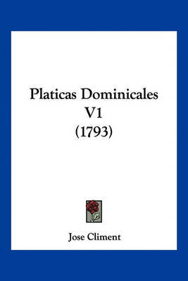 Platicas Dominicales V1 (1793) by Jose Climent image