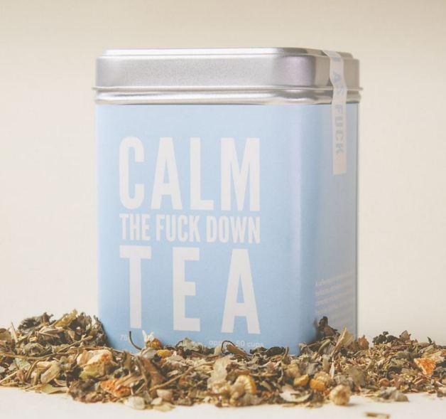 Calm the F*ck Down Tea