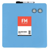 FM Frameless Magnetic Dry-Erase Board (Blue)