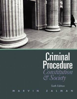 Criminal Procedure by Marvin Zalman