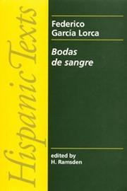 Bodas De Sangre by Federico Garcia Lorca image