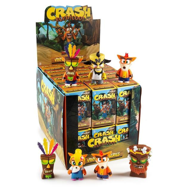 Kidrobot: Crash Bandicoot - Mini-Figure (Blind Box)