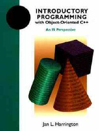 Introductory Programming with Object-Oriented C++ by Jan L. Harrington image