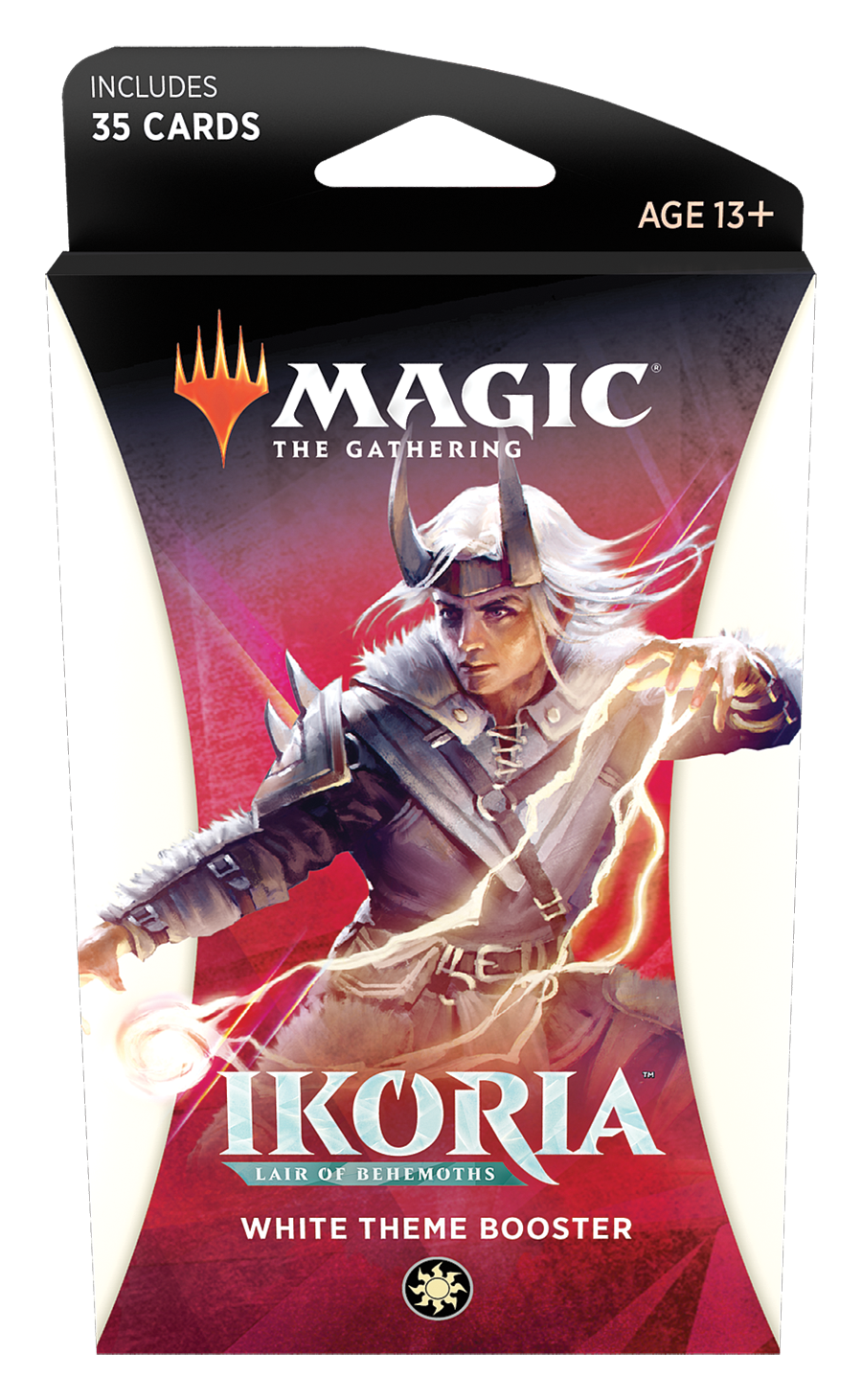 Magic the Gathering: Ikoria: Lair of Behemoths - Theme Booster White image