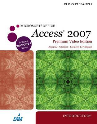 New Perspectives on Microsoft Office Access 2007, Introductory, Premium Video Edition by Joseph J Adamski image