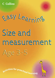 Size and Measurement Age 3-5 by Carol Medcalf image
