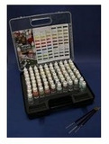 Vallejo Suitcase 72 Game Colour with 3 paint brushes