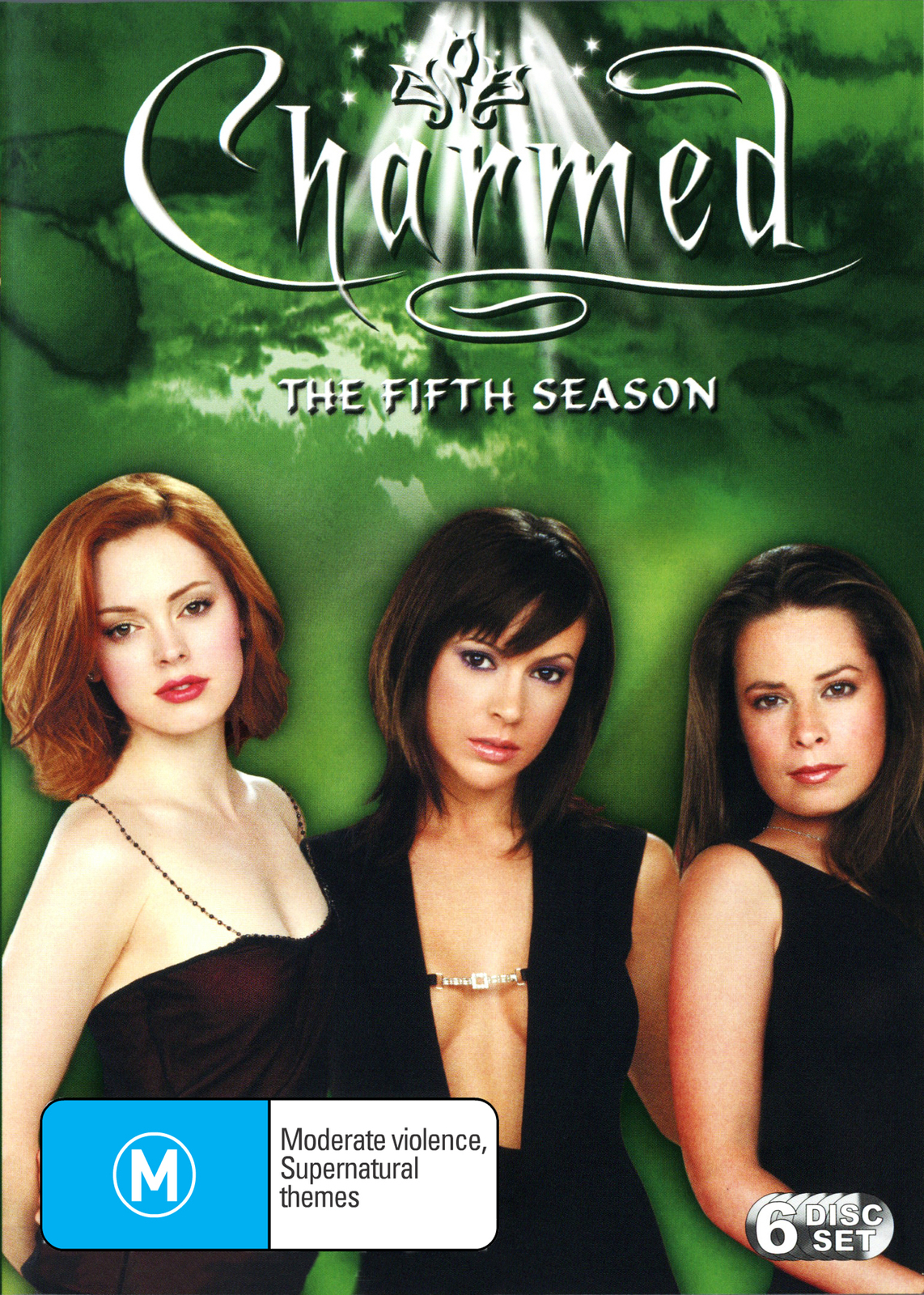 Charmed - Complete 5th Season (6 Disc) on DVD image