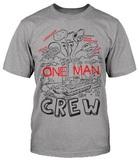 World of Tanks One Man Crew Men's T-Shirt (Small)