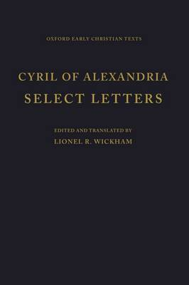 Selected Letters by Cyril of Alexandria image