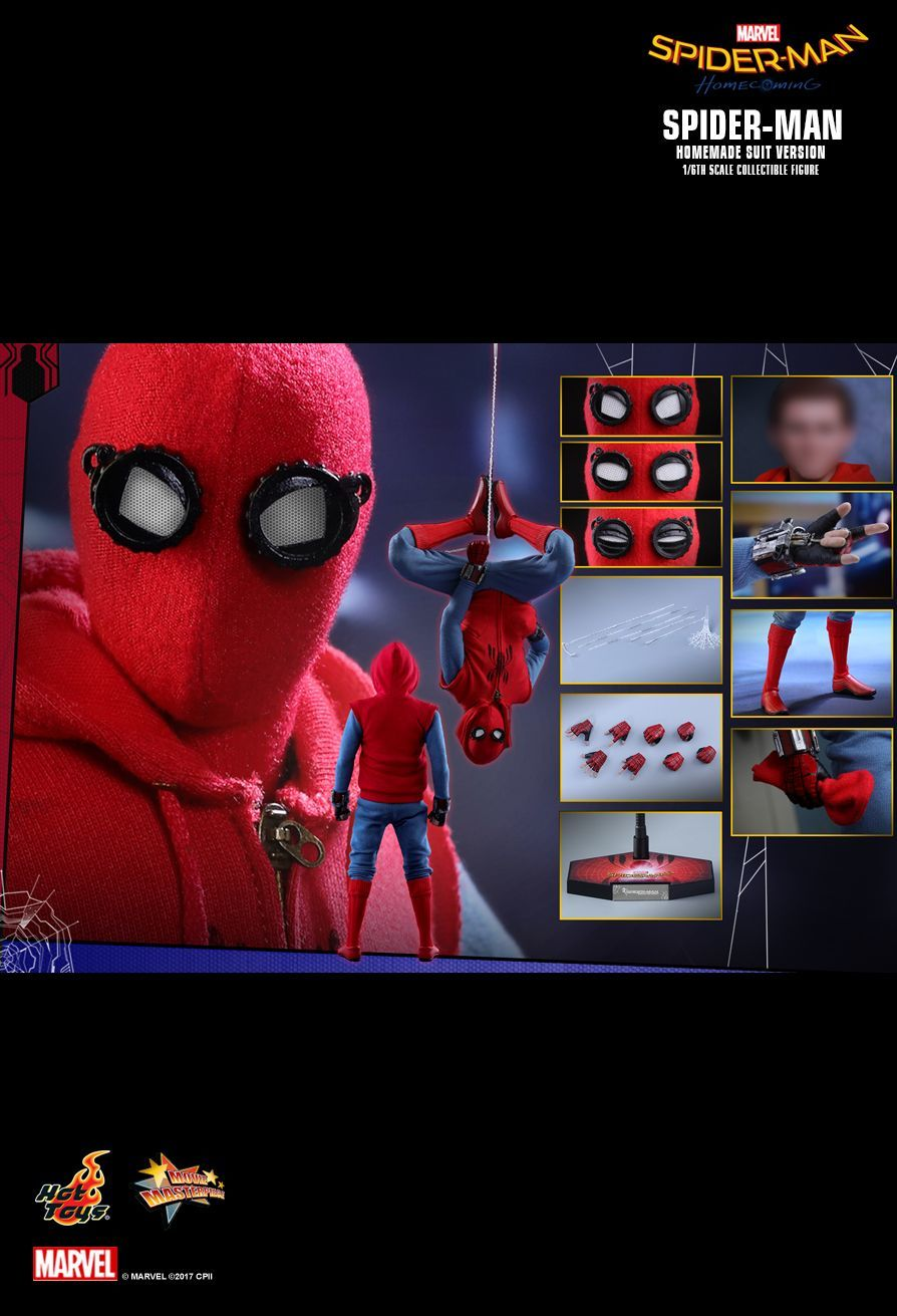 "Spider-Man: Homecoming: (Homemade Suit Ver.) - 12"" Articulated Figure image"
