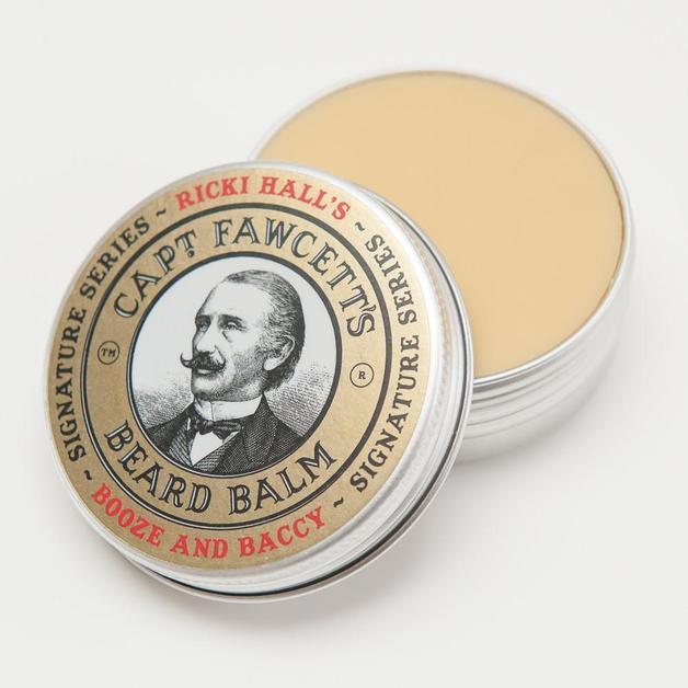 Captain Fawcett Beard Balm - Ricki Hall Booze & Baccy (60ml)