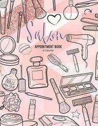 4 Column Salon Appointment Book by Pk Win