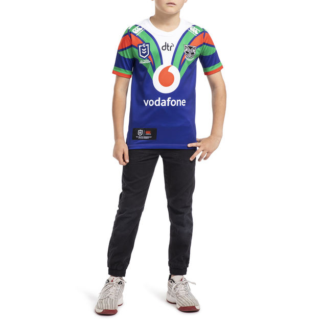 Vodafone Warriors Kids Home Jersey (6YR)