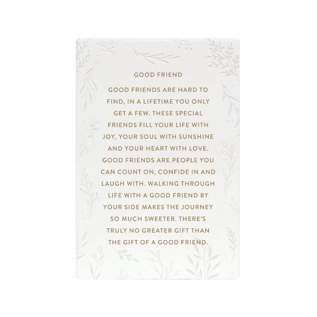 Splosh: Good Friend Life Quote
