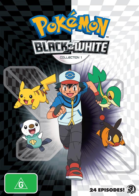 Pokemon - Season 14: Black & White - Part 1 on DVD