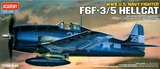 Academy F6F-3/5 Hellcat 1/72 Model Kit