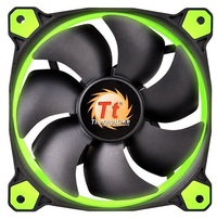 120mm ThermalTake Riing 12 Radiator Fan - Green LED