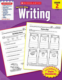 Scholastic Success with Writing, Grade 2 by Lisa Molengraft image